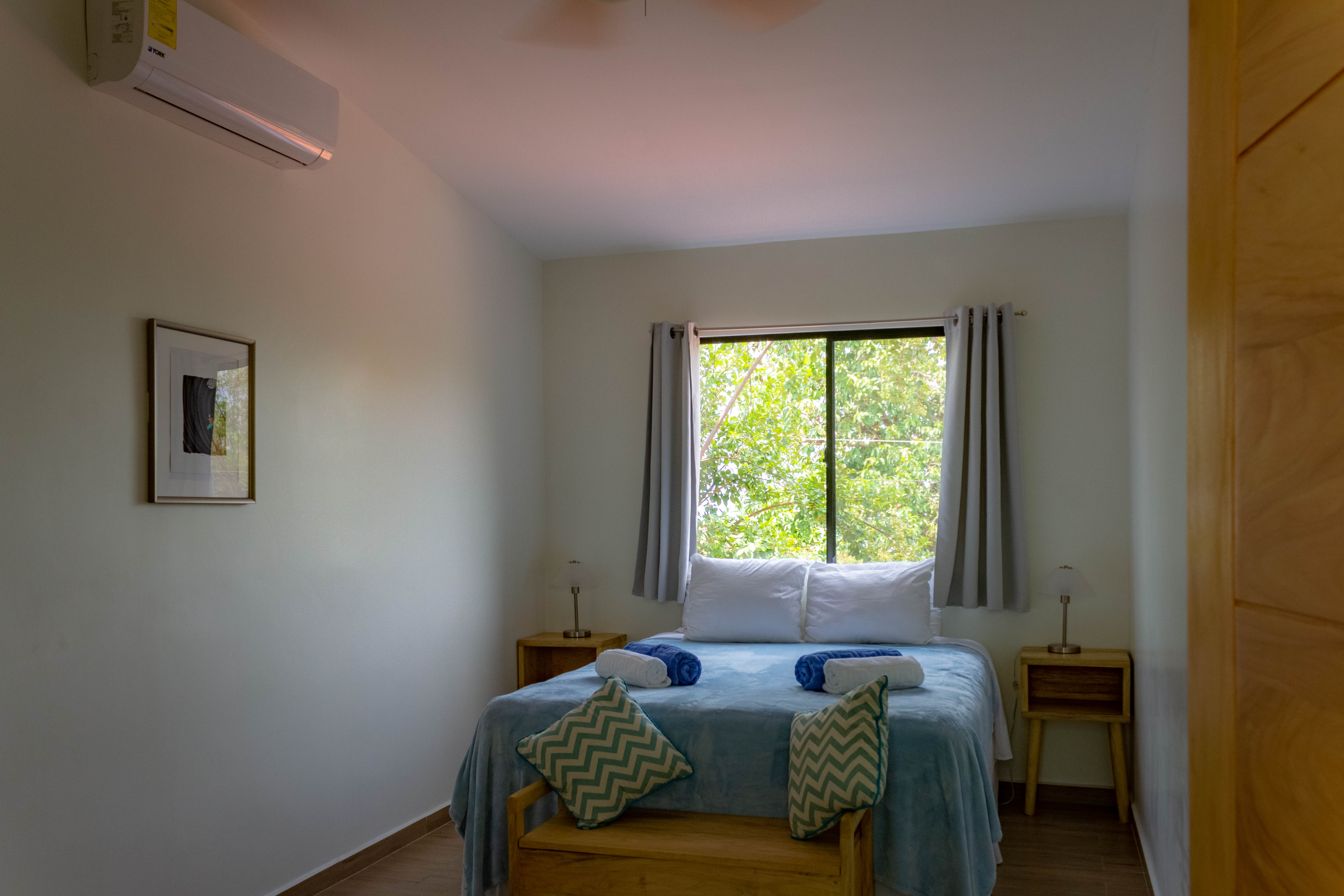 View of the second casita bedroom